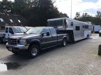 Sonstige Be Trekker 10 Ton Ford F250 4x4 Be oplegger 4 paarden en kar Прицеп для легкового автомобиля