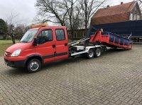 Sonstige Be Trekker 10 ton iveco Clixtar haakarm be oplegger (21) 8109 km PKW-Anhänger