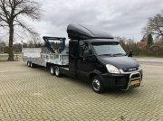 Sonstige Be Trekker 12 ton Jeep-as(49) Be Oplegger 13 Ton knik semi Прицеп для легкового автомобиля