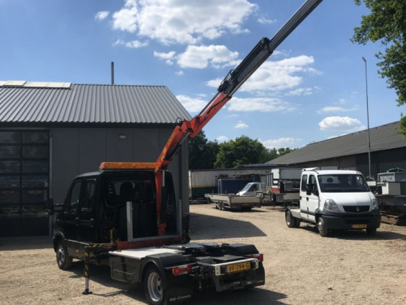 PKW-Anhänger a típus Sonstige Be Trekker 8.7 Ton iveco 50C17 Daily Palfinger kraan (20), Gebrauchtmaschine ekkor: Putten (Kép 2)