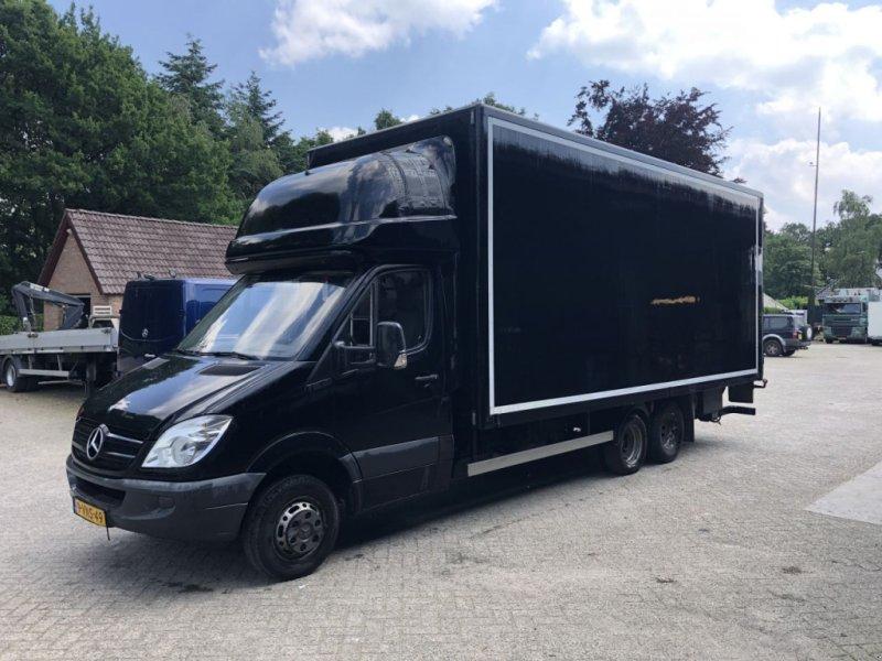 Kép Sonstige Be Trekker Mercedes 519 8.7 Ton Be oplegger Clixtar 6.7 T  (111)