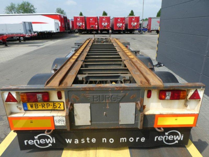 PKW-Anhänger типа Sonstige Burg Container aanhangwagen, Gebrauchtmaschine в Ommen (Фотография 4)