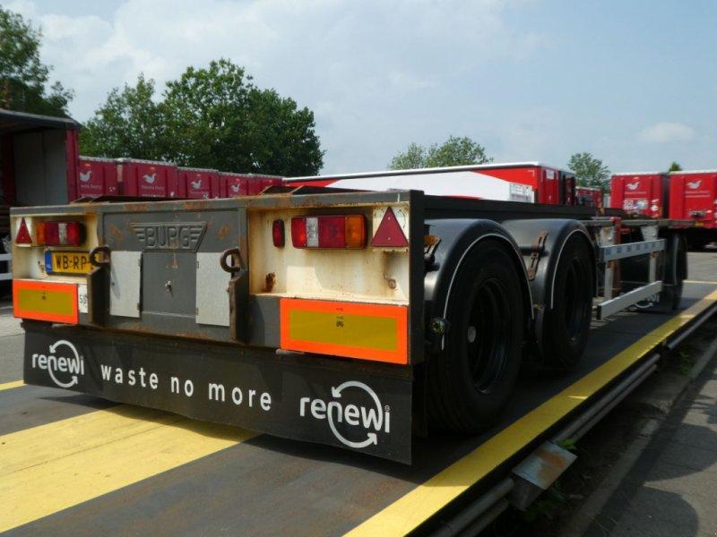 PKW-Anhänger типа Sonstige Burg Container aanhangwagen, Gebrauchtmaschine в Ommen (Фотография 2)