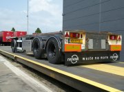 PKW-Anhänger a típus Sonstige Burg Container aanhangwagen, Gebrauchtmaschine ekkor: Ommen