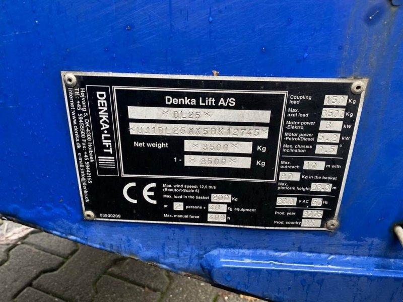 PKW-Anhänger типа Sonstige Denka-Lift DL 25 aanhanger hoogwerker, Gebrauchtmaschine в WIJCHEN (Фотография 7)