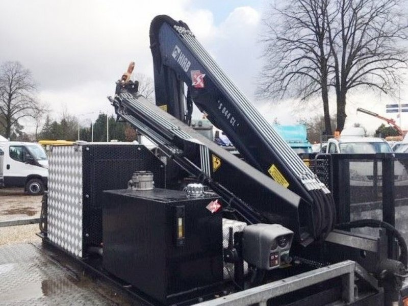 PKW-Anhänger типа Sonstige Hiab 044 CLX met Kubota laadkraan met extra functies, Gebrauchtmaschine в Putten (Фотография 1)
