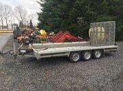 Sonstige Hulco 3500 kg maskintrailer Príves pre osobné vozidlá
