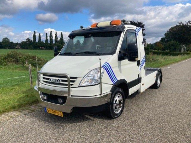 PKW-Anhänger типа Sonstige Iveco Daily 40C18 (7) BE trekker 12 ton met GS trailer en kraan, Gebrauchtmaschine в Putten (Фотография 1)