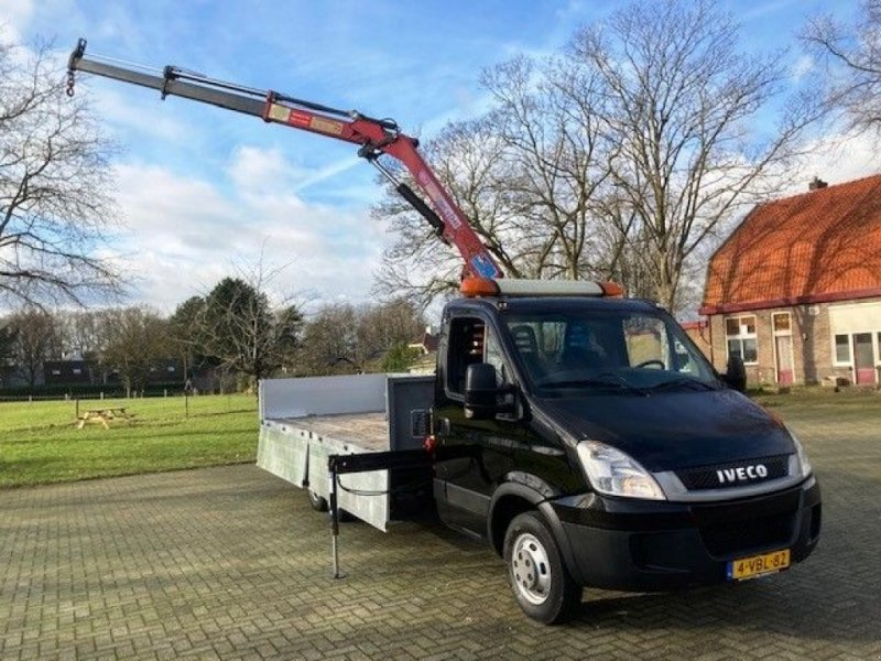PKW-Anhänger typu Sonstige Iveco Daily (49) 7490 kg 40C18 BE Clixtar met kraan, Gebrauchtmaschine v Putten (Obrázek 1)