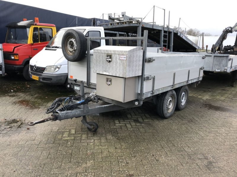 PKW-Anhänger типа Sonstige kipper aanhanger lucht geremd 3500 kg met din oog Atec, Gebrauchtmaschine в Putten (Фотография 1)