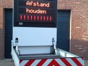 PKW-Anhänger tip Sonstige Tekstkar Lichtkrant, Gebrauchtmaschine in Middelbeers