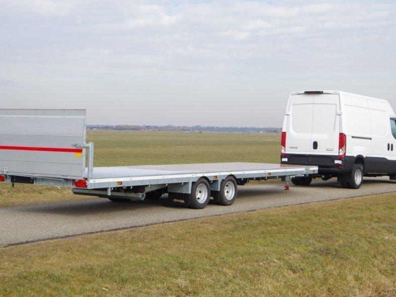 PKW-Anhänger typu Sonstige Veldhuizen 7,8-tons Semi-dieplader aanhangwagen, Gebrauchtmaschine w Groenekan (Zdjęcie 1)