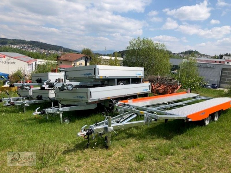 PKW-Anhänger des Typs WM Meyer KHL2701, Neumaschine in Regen (Bild 2)