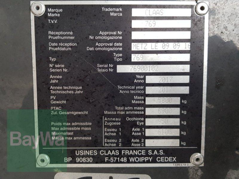 Press-/Wickelkombination des Typs CLAAS ROLLANT 454 RC UNIWRAP, Gebrauchtmaschine in Bamberg (Bild 9)