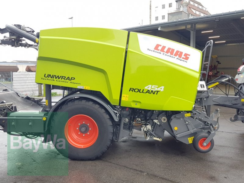 Press-/Wickelkombination des Typs CLAAS ROLLANT 454 UNIWRAP, Gebrauchtmaschine in Bamberg (Bild 1)