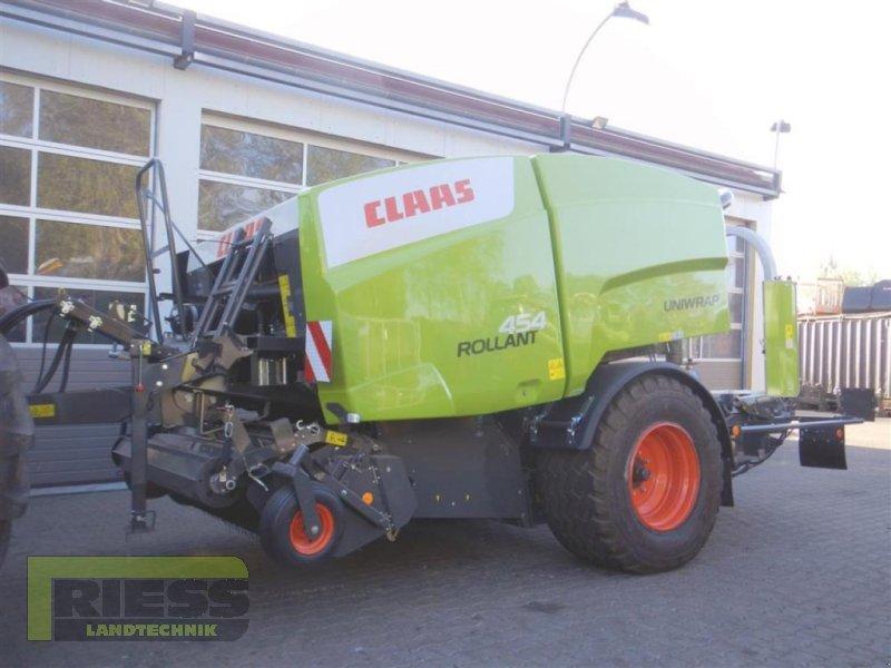 Press-/Wickelkombination des Typs CLAAS ROLLANT 454 UNIWRAP, Neumaschine in Homberg (Ohm) - Maulbach (Bild 1)