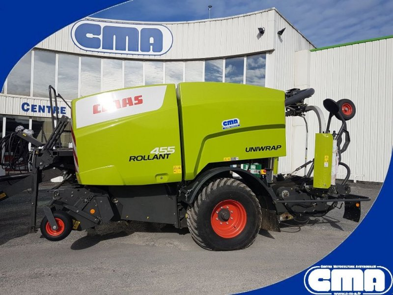 Press-/Wickelkombination a típus CLAAS Rollant 455 RC Uniwrap, Gebrauchtmaschine ekkor: RODEZ (Kép 1)