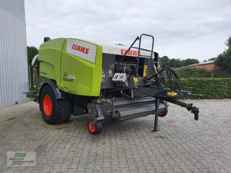 Press-/Wickelkombination des Typs CLAAS Rollant 455 RC UW, Gebrauchtmaschine in Rhede / Brual (Bild 1)