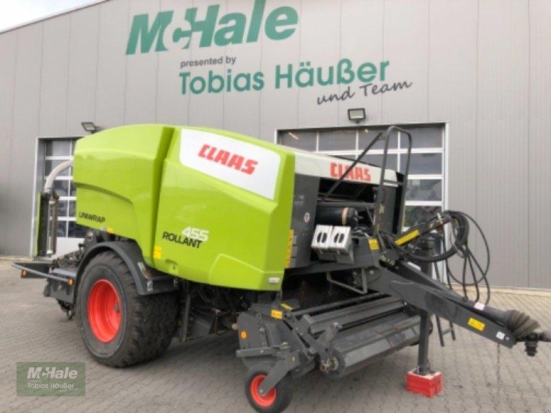 Press-/Wickelkombination des Typs CLAAS Rollant 455 Uniwrap, Gebrauchtmaschine in Borgholzhausen (Bild 1)