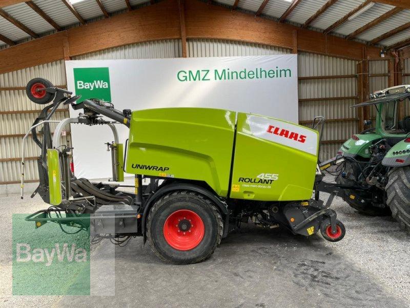 Press-/Wickelkombination des Typs CLAAS ROLLANT 455 UNIWRAP, Gebrauchtmaschine in Mindelheim (Bild 1)