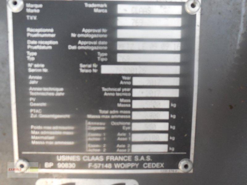 Press-/Wickelkombination des Typs CLAAS Uniwrap 454 RC, Gebrauchtmaschine in Langenau (Bild 7)