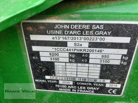 Press-/Wickelkombination des Typs John Deere C441 R, Gebrauchtmaschine in Eching (Bild 10)