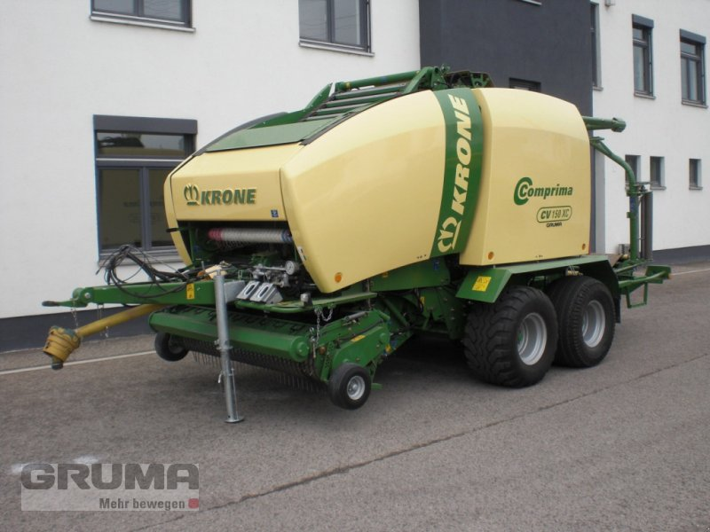 Press-/Wickelkombination типа Krone Comprima CV 150 XC, Gebrauchtmaschine в Friedberg-Derching (Фотография 1)