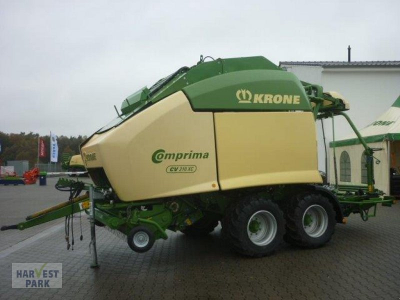 Press-/Wickelkombination des Typs Krone Comprima CV 210 XC, Gebrauchtmaschine in Emsbüren (Bild 1)