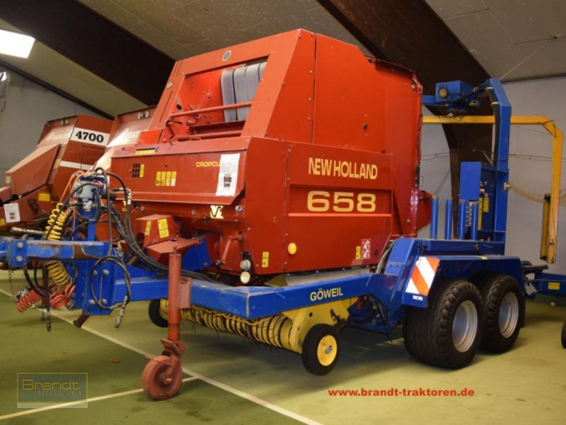 Press-/Wickelkombination a típus New Holland 658 Wickelkombination, Gebrauchtmaschine ekkor: Bremen (Kép 1)