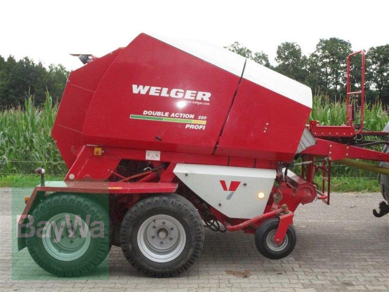 Press-/Wickelkombination des Typs Welger DA 220 Profi, Gebrauchtmaschine in Altensteig (Bild 7)