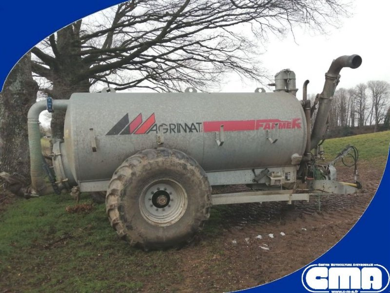 Pumpfass типа Agrimat FARMER 85, Gebrauchtmaschine в RODEZ (Фотография 1)