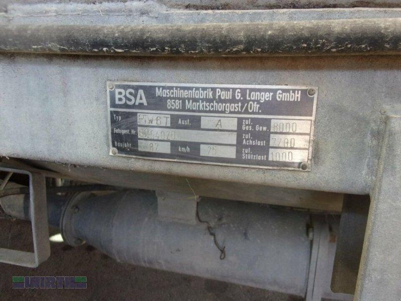 Pumpfass des Typs BSA PTW 6, Gebrauchtmaschine in Buchdorf (Bild 5)