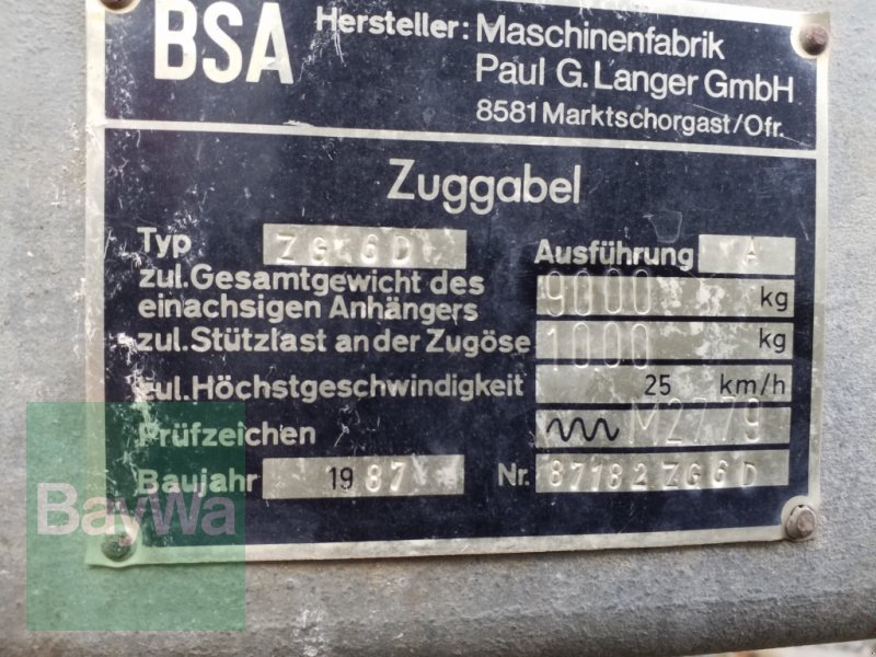 Pumpfass του τύπου BSA PTW 7 T, Gebrauchtmaschine σε Bamberg (Φωτογραφία 5)