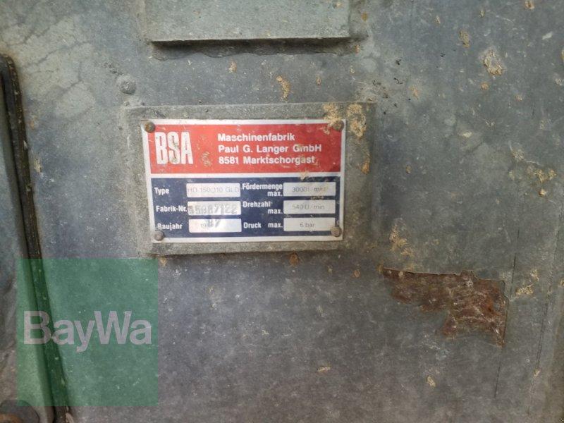 Pumpfass του τύπου BSA PTW 7 T, Gebrauchtmaschine σε Bamberg (Φωτογραφία 8)