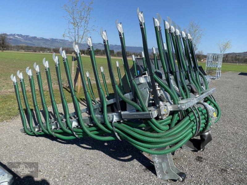 Pumpfass des Typs Farmtech Condor 7.5 m Schleppschuhverteiler, Gebrauchtmaschine in Rankweil (Bild 1)