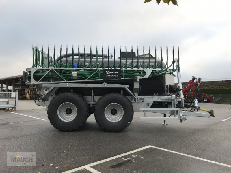 Pumpfass des Typs Farmtech Polycis 1400 + Condor 15.0, Neumaschine in Burgkirchen (Bild 5)