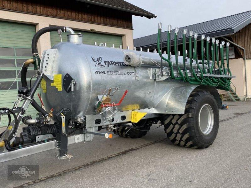 Pumpfass des Typs Farmtech Supercis 800 mit Condor 9 m Schleppschuh, Neumaschine in Rankweil (Bild 1)
