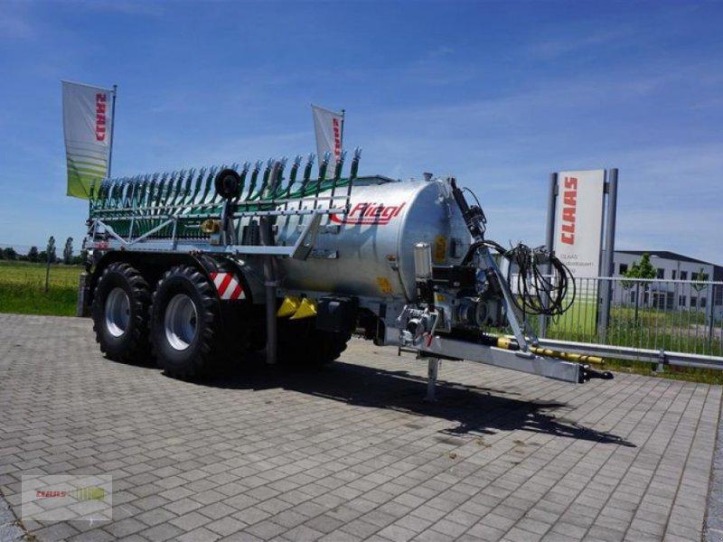 Pumpfass des Typs Fliegl PFW 12000 MAXX-LINE+Skate 120, Neumaschine in Töging am Inn (Bild 1)