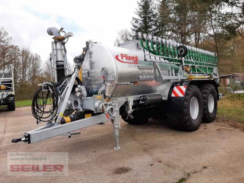 Pumpfass типа Fliegl PFW 14000 Maxx Line Plus + Skate 150, Neumaschine в Ansbach (Фотография 1)