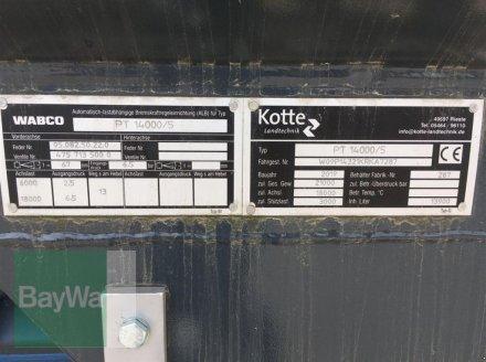 Pumpfass des Typs Kotte GARANT PT 13.900 KOTTE PUMPTAN, Neumaschine in Bogen (Bild 13)