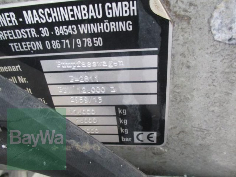 Pumpfass des Typs Marchner PFW 12.000     # 394, Gebrauchtmaschine in Schönau b.Tuntenhaus (Bild 20)