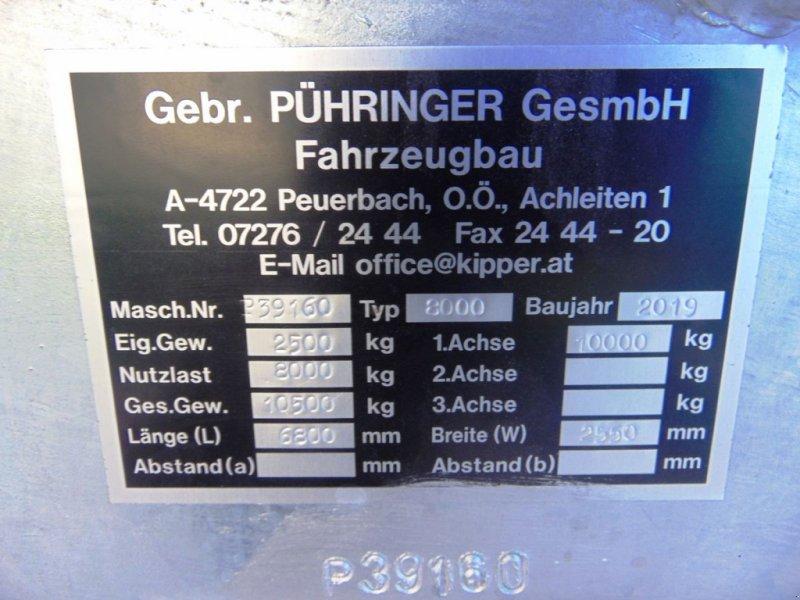 Pumpfass des Typs Pühringer 8000, Neumaschine in Neukirchen am Walde  (Bild 3)