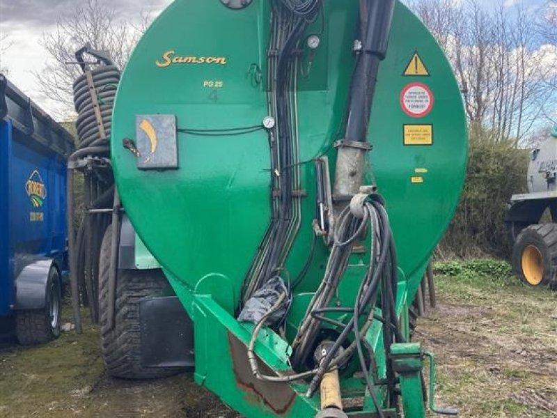 Pumpfass типа Samson PG 25 med 24 mtr bom der er noget nyere end vogn, Gebrauchtmaschine в Kongerslev (Фотография 1)