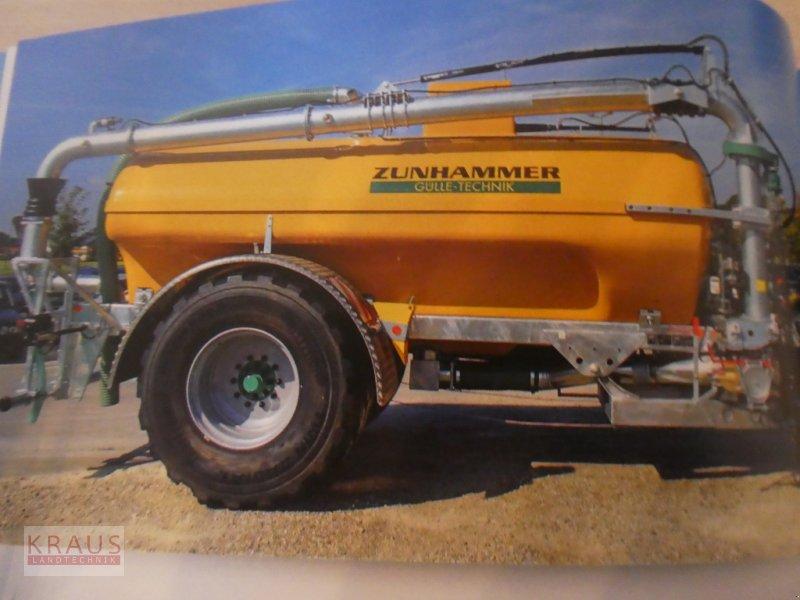 Pumpfass des Typs Zunhammer 9000Ltr. Einach und 12000 Ltr. Tandem mit Schleppschlauch, Neumaschine in Geiersthal (Bild 1)