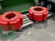 Radgewicht des Typs Fendt 2 x 1000 kg + Adapterplatte, Gebrauchtmaschine in Pocking