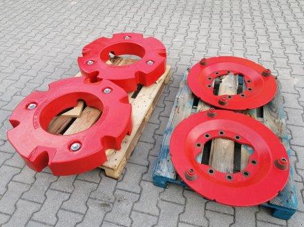 Radgewicht типа Fendt 2 x 300kg mit 10-Loch Adapterplatten, Neumaschine в Tirschenreuth (Фотография 4)