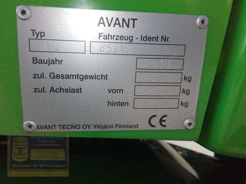Radlader des Typs Avant 750 Multilader, Lader, Hoflader, Gebrauchtmaschine in Pfarrweisach (Bild 6)