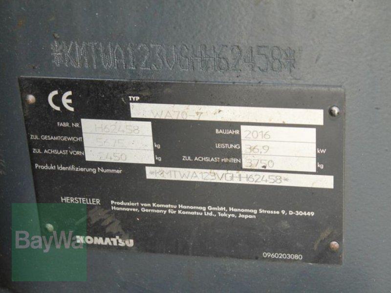 Radlader des Typs Komatsu WA 70, Gebrauchtmaschine in Straubing (Bild 12)