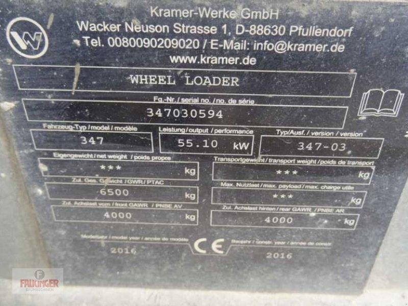 Radlader des Typs Kramer 950, Gebrauchtmaschine in Putzleinsdorf (Bild 11)