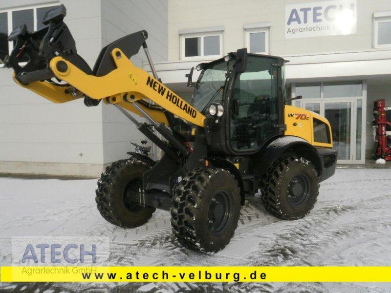 Radlader des Typs New Holland W 70 C ZB-AG, Neumaschine in Velburg (Bild 1)
